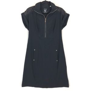 Zenergy by Chico's black Active wear dress A0151